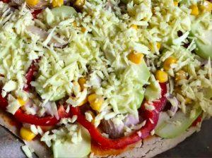 Pizza fara gluten ingrediente Ani Cretu Cu si fara masca